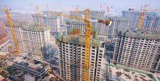 Construção de China fotos de stock royalty free