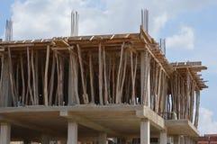 Construção de construção de casas Imagens de Stock