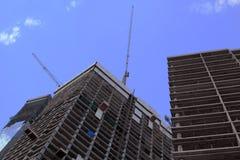 Construção de construções Imagens de Stock Royalty Free