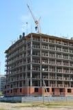 Construção de construções residenciais, Fotos de Stock