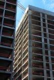 Construção de construções residenciais Fotografia de Stock