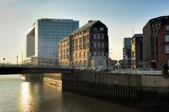 Construção de Der Spiegel, Hamburgo, Alemanha Foto de Stock Royalty Free