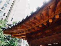 Construção de descanso tradicional em Coreia Imagens de Stock
