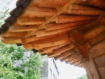 Construção de descanso tradicional em Coreia Foto de Stock Royalty Free