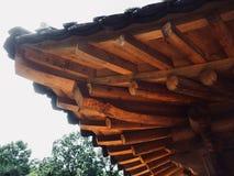 Construção de descanso tradicional em Coreia Imagens de Stock Royalty Free