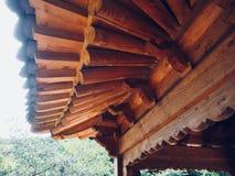 Construção de descanso tradicional em Coreia Imagem de Stock