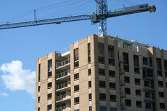 Construção de edifício Fotos de Stock Royalty Free
