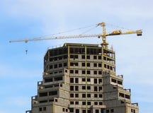 Construção de edifício Imagem de Stock Royalty Free