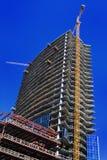 Construção de edifício Fotografia de Stock Royalty Free