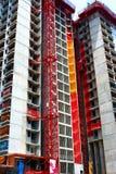 Construção de edifício. Foto de Stock Royalty Free