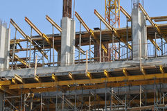 Construção de edifício Imagens de Stock