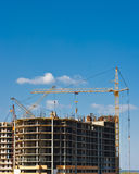 Construção de edifício Multistory Fotos de Stock Royalty Free
