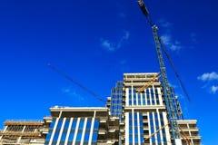 Construção de edifício nova Foto de Stock Royalty Free