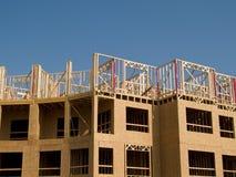 Construção de edifício urbana Imagens de Stock
