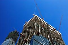 Construção de edifícios modernos Fotografia de Stock Royalty Free