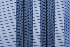 Construção de escritório empresarial moderna da olá!-elevação fotos de stock royalty free