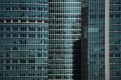 Construção de escritório para negócios Windows de Moden Imagem de Stock