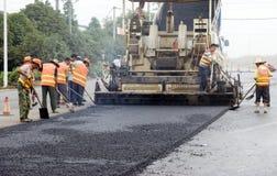 Construção de estradas Fotos de Stock