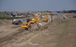 Construção de estradas Imagem de Stock Royalty Free
