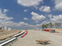 Construção de estradas Fotografia de Stock
