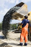 Construção de estradas. Imagem de Stock