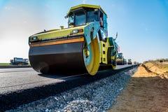 Construção de estradas nova Imagens de Stock Royalty Free
