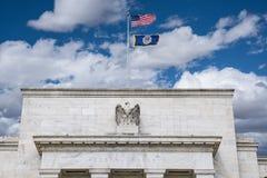 Construção de Federal Reserve fotografia de stock royalty free