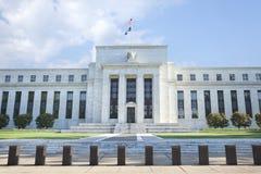 Construção de Federal Reserve em Washington, C.C. Fotos de Stock Royalty Free