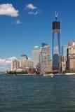 Construção de Freedom Tower Fotografia de Stock Royalty Free