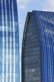 Construção de Glas Fotografia de Stock Royalty Free