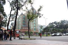 Construção de HSBC em Vietname Fotografia de Stock