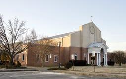Construção de igreja presbiteriana de Cumberland da fé, Memphis, TN fotografia de stock royalty free