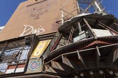 Construção de jogo em Las Vegas, nanovolt de Hall Saloon de Bill em maio Fotografia de Stock