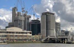Construção de Londres Fotos de Stock Royalty Free