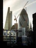 Construção de Londres Foto de Stock