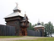 Construção de madeira Imagens de Stock Royalty Free