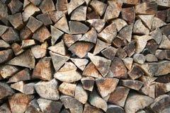 Construção de madeira da madeira Fotografia de Stock
