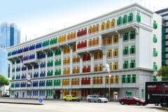 A construção de MICA em Singapura imagens de stock royalty free