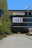 Construção de Microsoft em Salo, Finlandia Imagem de Stock