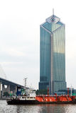 Construção de Morden em Banguecoque Fotografia de Stock