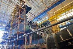 Construção de navio Fotografia de Stock