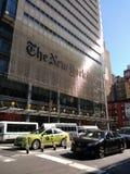 A construção de New York Times, NYC, NY, EUA Fotografia de Stock