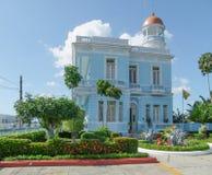 Construção de Palacio Azul Fotografia de Stock
