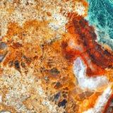A construção de pedra de mármore do teste padrão do detalhe da natureza do grunge do fundo do vintage da laje do efeito da elegân Imagem de Stock Royalty Free