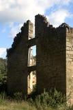 Construção de pedra do abandono Imagem de Stock Royalty Free