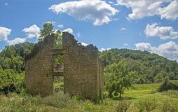 Construção de pedra do abandono Fotografia de Stock Royalty Free
