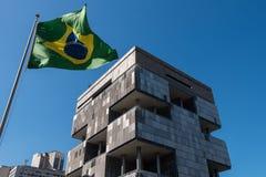 Construção de Petrobras em Rio de janeiro Fotos de Stock
