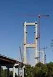 Construção de ponte Fotografia de Stock Royalty Free