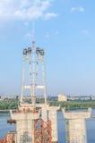 Construção de ponte Fotos de Stock Royalty Free