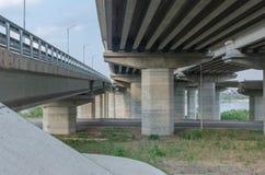 Construção de ponte Fotos de Stock